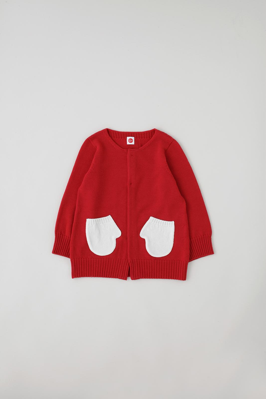Camphor カンフル kids こども 子供服 mittencardigan 日本製 madeinjapan