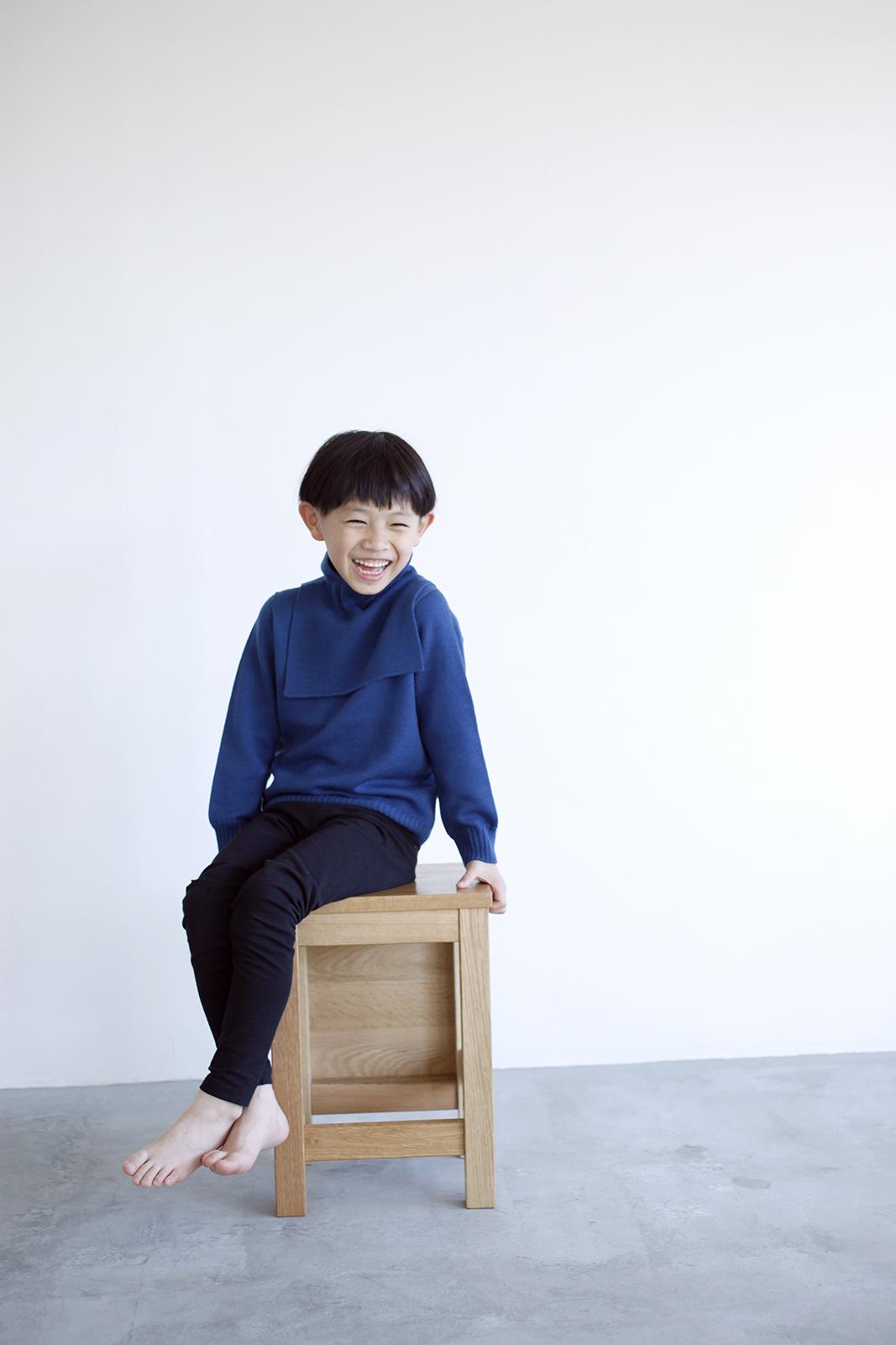 Camphor カンフル kids こども 子供服 familysweater neckwarmer 日本製 madeinjapan