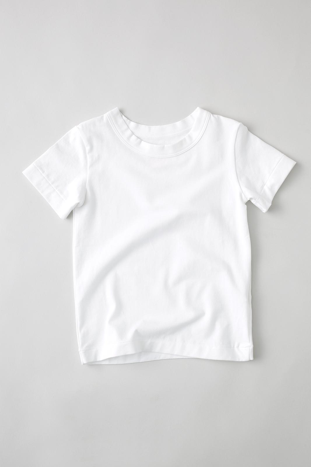 Camphor カンフル kids こども 子供服 everydaytee whitetee