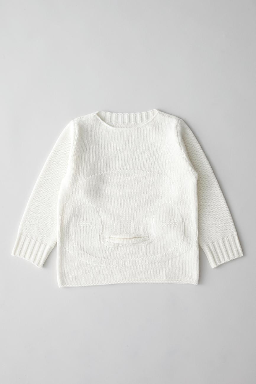 Camphor カンフル ニット knitwear kids こども 子供服 animalsweater penguin