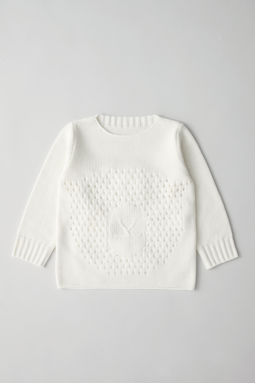 Camphor カンフル ニット knitwear kids こども 子供服 animalsweater sheep